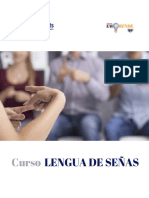 CONTENIDO LENGUA DE SEÑAS