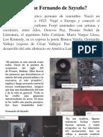 Fernando de Szyszlo infografia