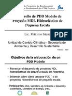 Desarrollo de PDD de Proyectos MDL Peque a Central Hidroel.-saeNZ