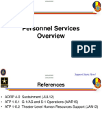 Personnel Services Overview (HR)