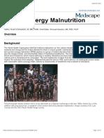 protein energy malnutrition - medscape
