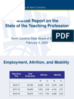 2018-19 Turnover Report Preview - State of the Teaching Profession Feb 2020
