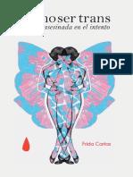 Cómo Ser Trans y Morir Asesinada en El Intento, Frida Cartas
