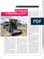 Nexter Brings Firepower to Expodefensa 2019
