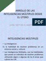 DESARROLLO DE LAS INTELIGENCIAS MÚLTIPLES DESDE EL ÚTERO