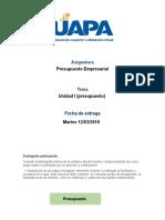 Presupuesto Empresarial Tarea 1.doc