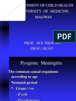 Pyogenic  Meningitis