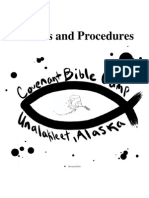 CBC Policies and Procedures