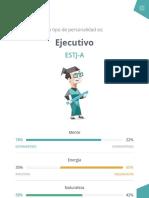 """Personalidad """"Ejecutivo"""" (ESTJ-A"""
