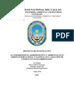 Jurisprudencia Administrativa y Ambiental en La UNION EUROPEA