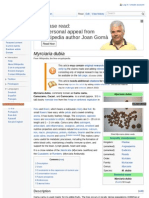 Camu Camu - Myrciaria Dubia - Wikipedia, The Free Encyclopedia - English Version