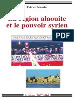 La région alaouite et le pouvoir syrien