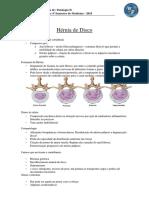 resumo hernia de disco