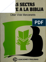 Las Sectas Frente a La Biblia - Cesar Vidal