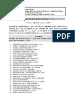 BOLETIM RESERVADO 005.2019 - QUADRO DE ACESSO GERAL DE 2019