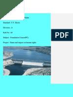 dams project