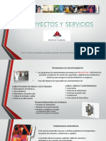 BROCHUR DE PROYECTOS Y SERVICIOS