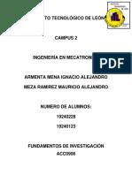 Investigacion proyecto