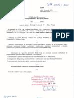 projekt 1 XVIII sesja Rady Miejskiej w Rabce-Zdroju - 29.01.2020 r.