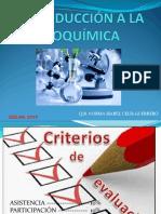 BIOQUÍMICA CAP1 PRIMER PARCIAL