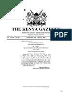 Gazette Vol. 20 30-1-20 Special Sitting (Assumption Kiambu) (1)