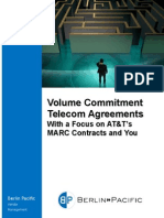 Volume Commitment Telecom Agreements