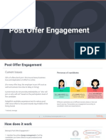 Post Offer Engagement