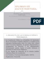 PRINCIPIOS CONSTITUCIONALES DE LA TRIBUTACIÓN EN GUATEMALA