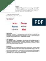 EL ROSADO - Tutoría de finanzas Corporativas