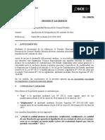 113-19 - TD 15066784 - MUNI PROV DE CORONEL PORTILLO - Aprobación de la liquidación del contrato de obra
