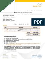 P20200115 - Servicios reparacion cable inyector_ Sanatorio Las Lomas.pdf