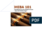 Cohiba 101 - Cigar Guide - PDF