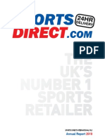 Annual Report Sports Direct