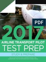 2017 Airline Transport Pilot Test Prep