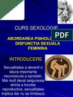 CURS SEXOLOGIE