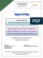 Rapport de Stage Almaden Morocco