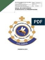 MANUAL DE CONVIVENCIA 2020