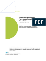 Opencore Framework Capabilities
