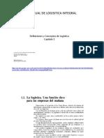 Manual de Logsitica Integral - Capitulo 1