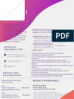 Colorful Gradient Graphic Designer Resume (1)