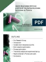 Optimización de procesos térmicos experiencia práctica en las plantas de proceso de Unilever en P.pdf