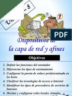 Unidad 8 - Dispositivos de la capa de Red.pptx