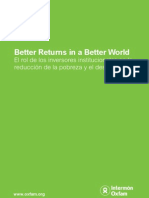 Better Returns Better World