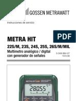 Metrahit 23s Ba_e Multi