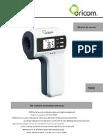 Termometro HuBdic-Oricom FS300 guia de usuario (español)