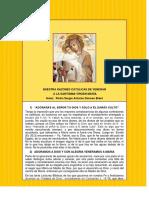 Razones Catolicas de Venerar a Maria - Pedro Sergio Antonio Donoso Brant