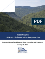 West Virginia 2020-2022 Council Substance Use Plan