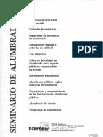 SEMINARIO DE ALUMBRADO PÚBLICO(Schréder)