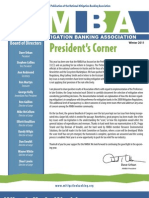 National  Mitigation Banking Association  Winter Edition Newsletter