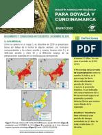 Boletin Agroclimatico Boyaca Enero 2020